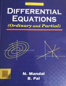 CBCS differential equations book by n mandal and b pal