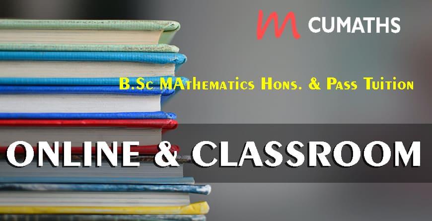 Best Online and offline class for B.Sc Mathematics